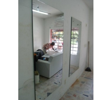 Espelho  C/ Botão Parafusado + Espelho