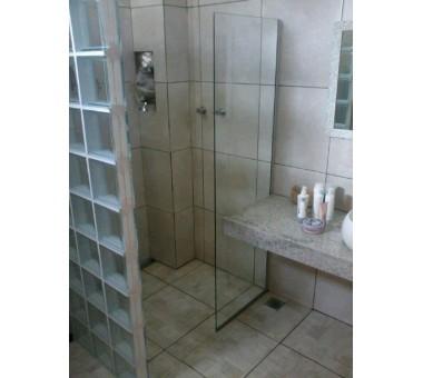 Divisória Vidro Fixo Para Banheiro