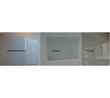 Lousa Quadro De Anotações Adesivo X Jateado X Incolor Ou Transparente